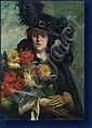 Dolf VAN ROY (Bruxelles 1858-1943) Femme au, Dolf