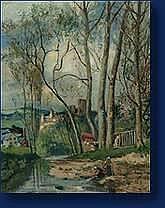 Gérard Antoine CREHAY (Spa 1844-1937) Vue de