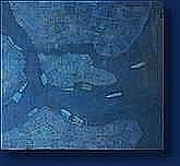Michel FOUAT (Rocourt 1939) Composition bleue