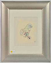 Fr:  une technique mixte de Gaston Xhardez  Dim: 26 x 20 cm  En