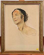 Fr:  un dessin d'Adrien Dupagne  Dim: 45 x 35 cm  En:  a dr