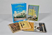 Fr:  un lot de 5 livres sur le Congo  En:  a set of 5 books on