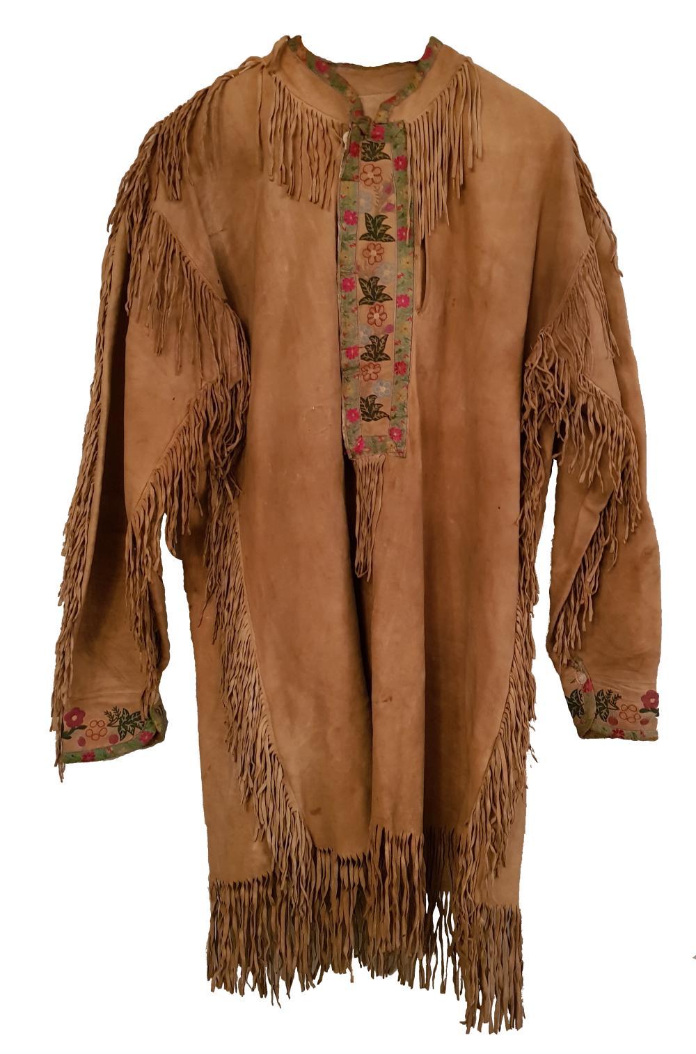 La Remise Aux Tissus Lyon cree trapper jacket 1880-1890