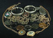 Lot of  16 Bangles/Necklace/Pendants