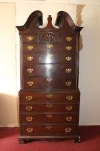 Chippendale HIghboy Dresser