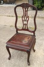 Carved Chinese Chair