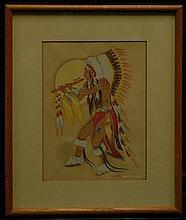 WOODY CRUMBO (1912-1989) - Painting