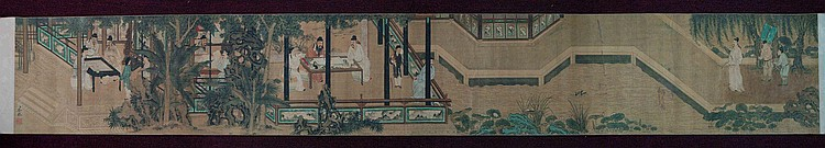 Antique Chinese Hand Scroll Painting