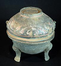 Han Dynasty Tripot Food Container
