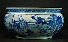 Chinese  Blue and White Incence Burner