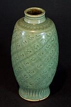 Ming Dynasty Chinese Longquan Celadon Vase