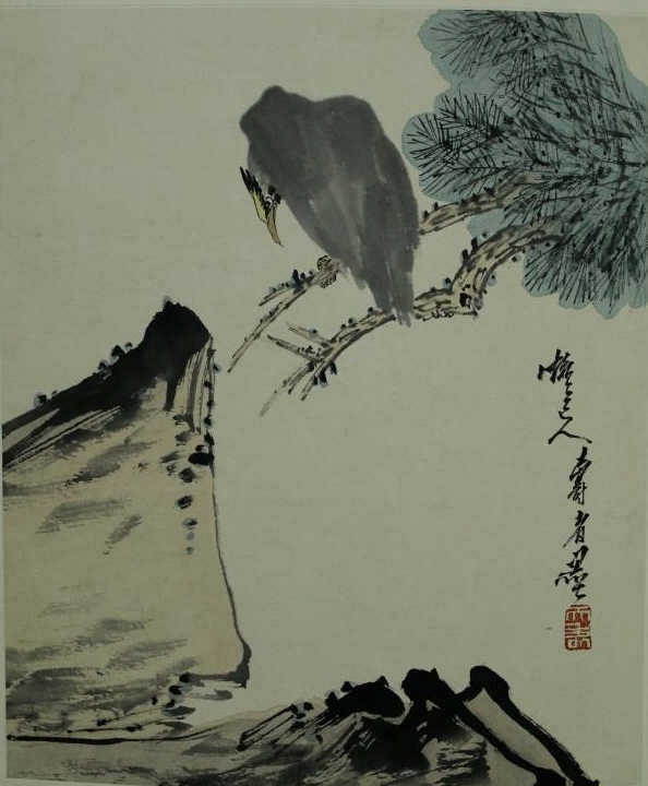 Chinese Watercolor-Pan Tianshou