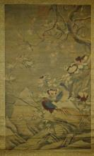 Antique Chinese Scroll Painting - Wang Xiao