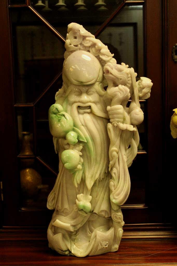 Chinese Jadeite Longevity