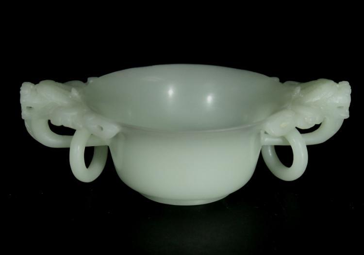 Carved Jade Cup