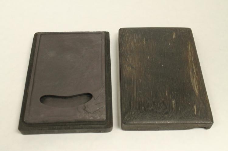 Chinese Inkstone w/ Wooden Case