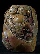 Carved Shoushan Stone Piece