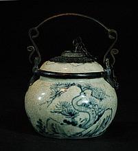 Qing Dynasty Opium Pot