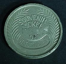 Souvenir Nickel - Statue of Liberty