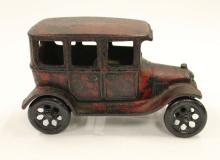 Old Cast Metal Toy Car