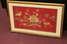 Framed Chinese Embroidery