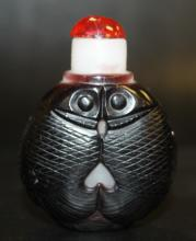Peking Glass Snuff Bottle - Fish