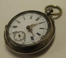 Antique Edelweiss Pocket Watch