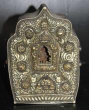 Southeast Asian Metal Shrine