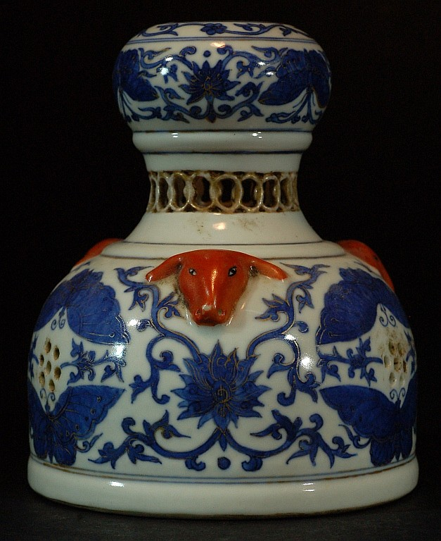 Chinese Blue & White Perfumer