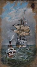 after FRED PANSING (American 1844-1912) A CHROMOLITHOGRAPH,