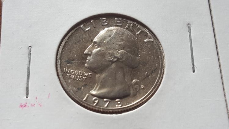 1973-S PROOF WASHINGTON QUARTER