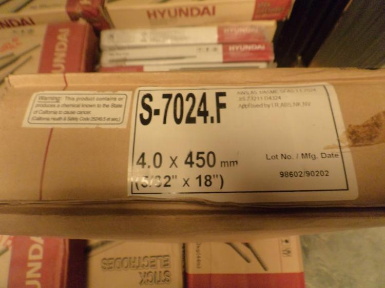 Hyundai 44 pound boxes of 5/32