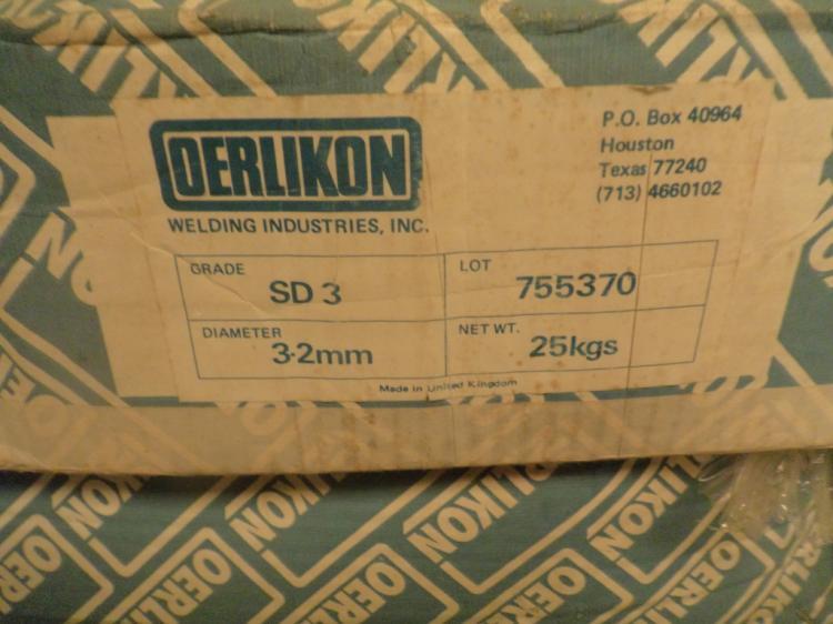 Oerlikom SD 3 3-2MM Mig Wire Qty 2