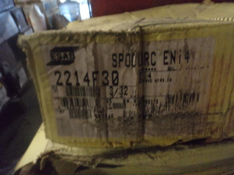ESAB Spoolarc EN14 65 pound roll of 3/32