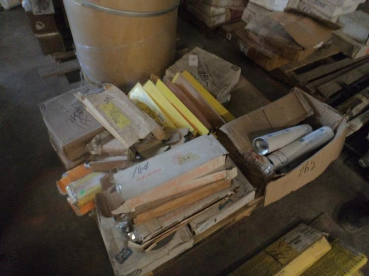 Misc pallet of welding wire and rods