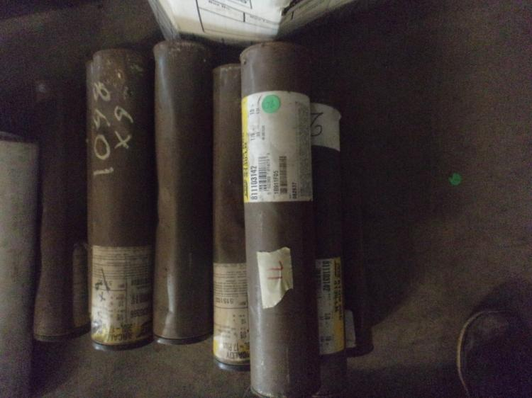 Lot of 11, 10 pound tubes of 1/8