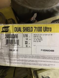 Dual shield 7100 1/16