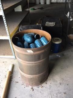 Barrel of Gas bottle caps