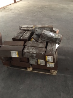 Pallet of misc stick electrodes still in unopened