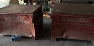 Lot of 2 job boxes