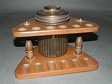 6 Pipe Humidor Set