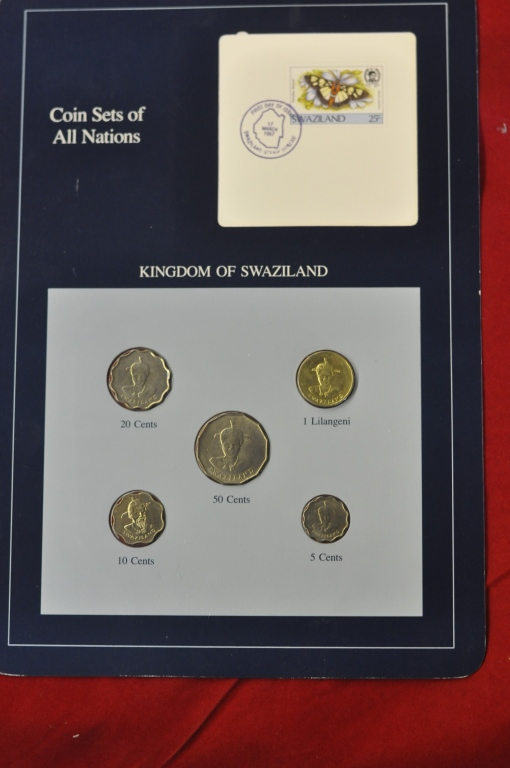 Coins of All Nations Set from Kingdom of
