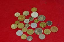 Bag of 25 Foreign Coins