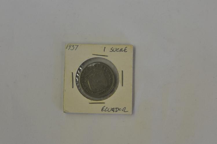 1937   1 Sucre from Ecuador