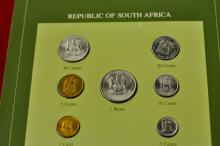 Coins of All Nations Set from Republic of South