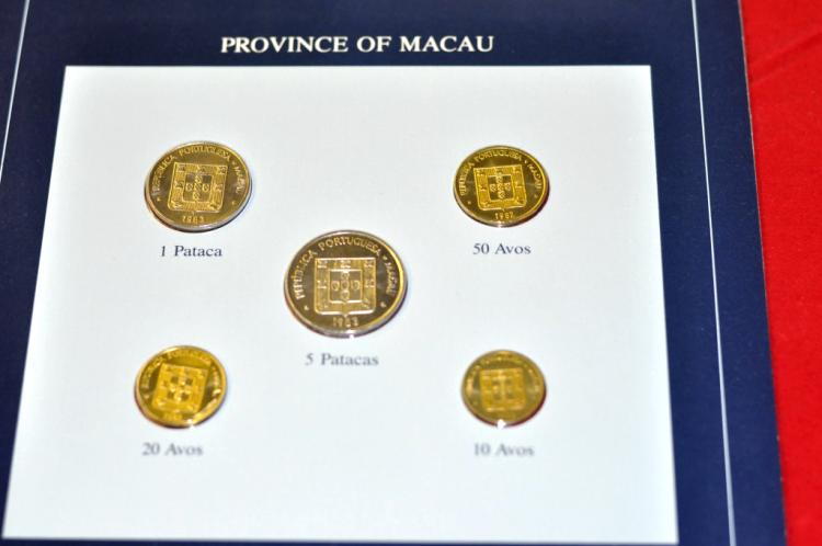Coins of all Nations Set from Province of Macau