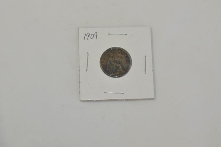 1909 Farthing Great Britain