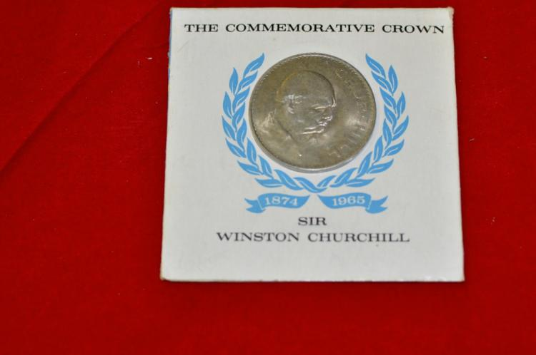 1965   Sir Winston Churchill Commemorative Crown