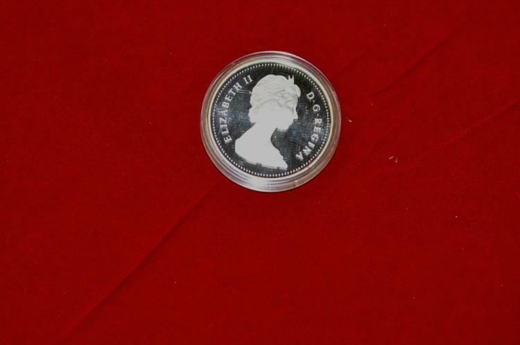 1984  Canadian Silver Dollar