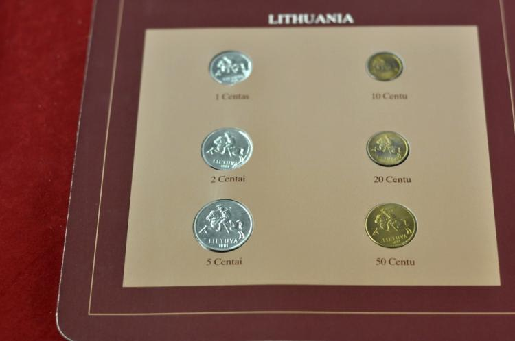 Coins of all Nations Set from Lithuania